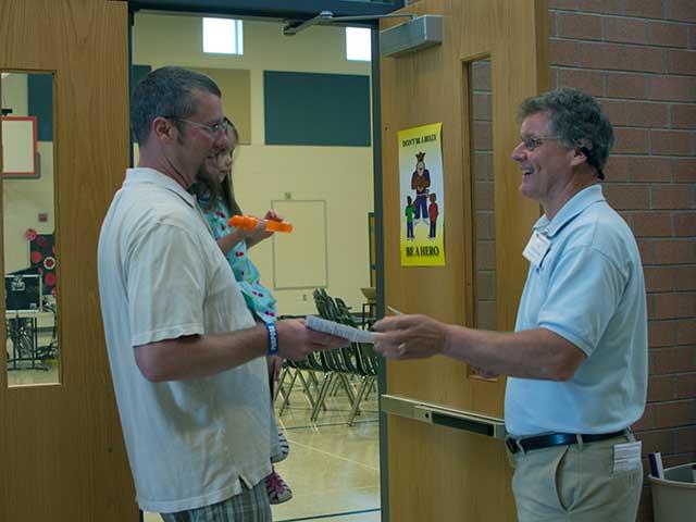 Welcome, Inside Gravely Elementary