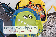 Blessng of the Backpacks