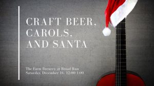 Craft Beer and Santa Advertisement
