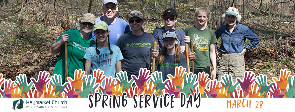 Spring Service Day Banner