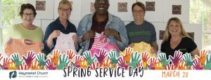 Spring Service Day 2020 Slider