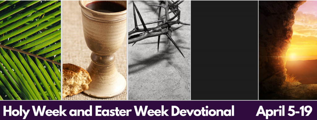 Holy Week and Easter Week Devotional Banners