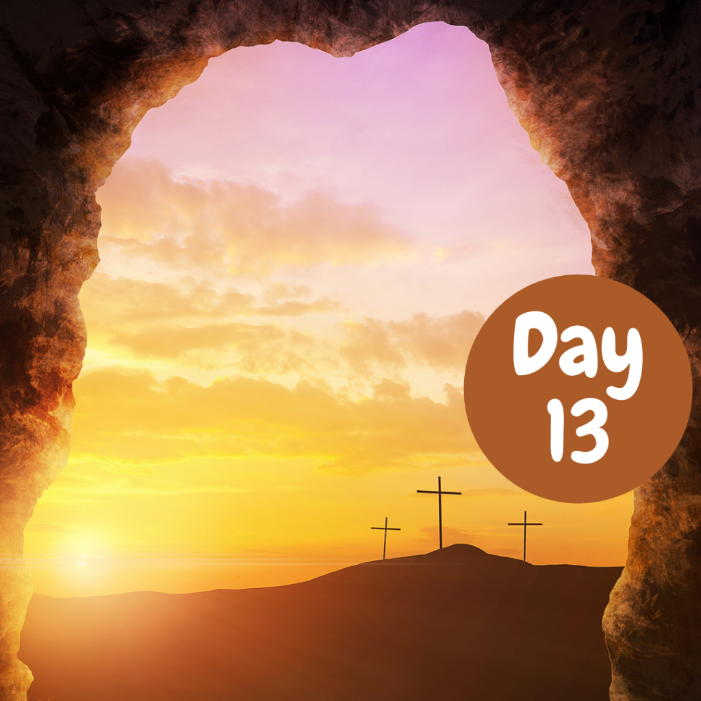 Easter Devotional Day 13 Banner