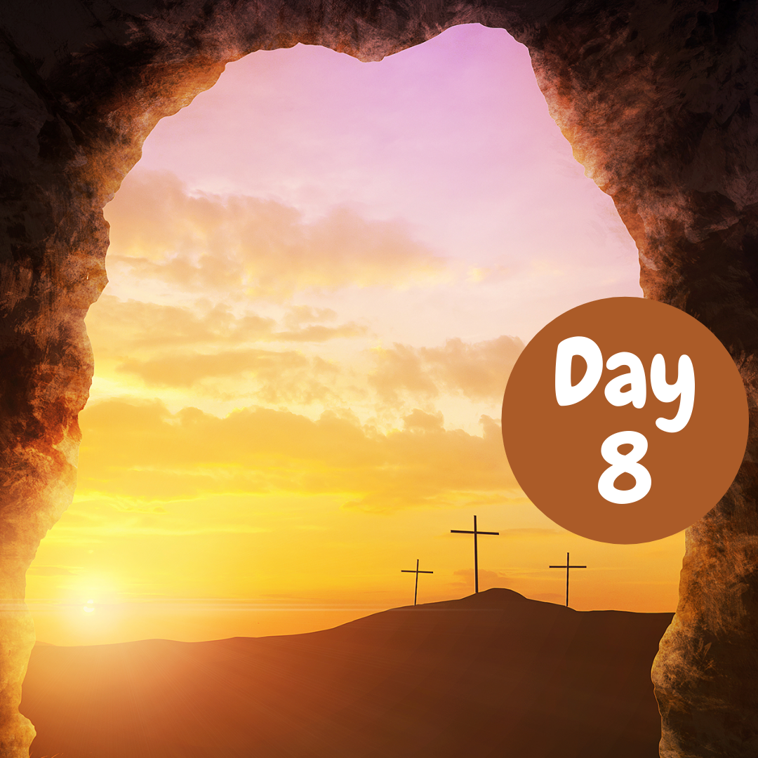 Easter Devotional Day 8 Banner