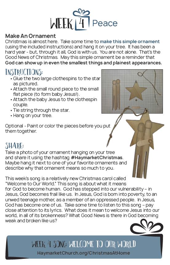 week 1 christmas box description, paper chain image