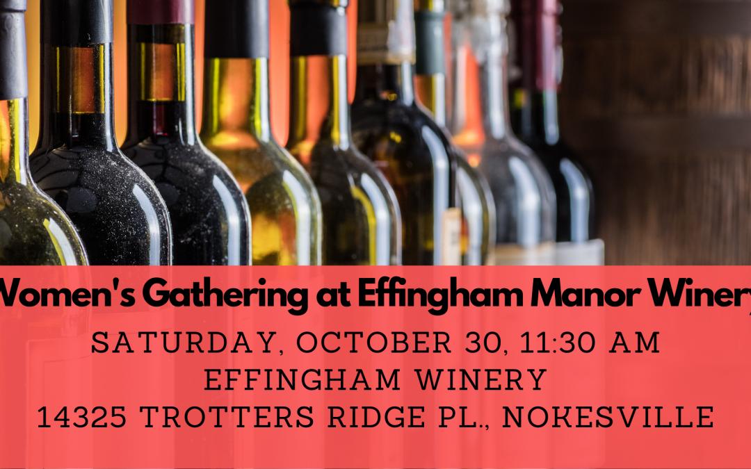 Women's Hangout at Effingham Manor Winery